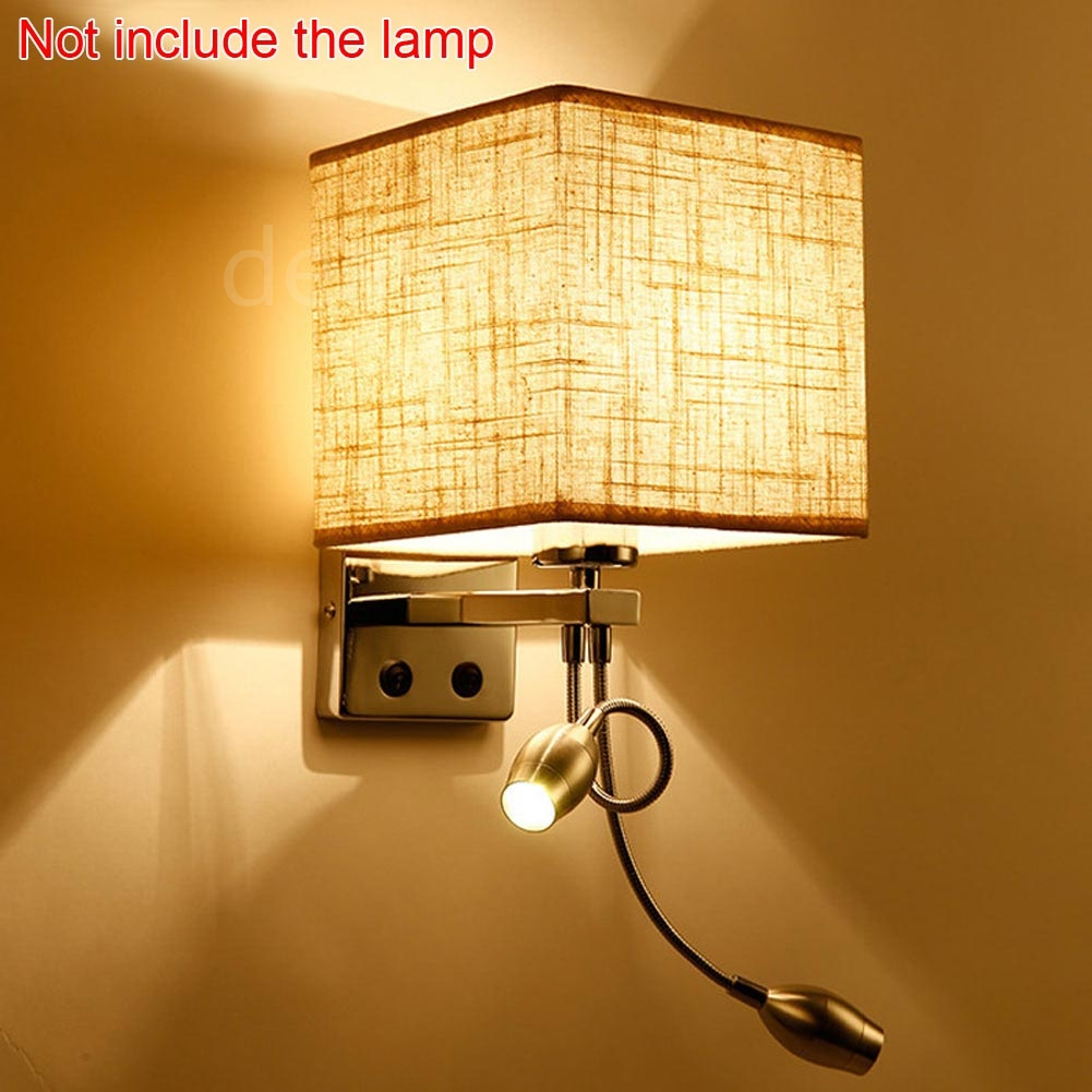 Bedroom Wall Sconces With On Off Switch : Modern LED Cloth Wall Lamp Wall Sconce Light Hallway Bedroom Bedside Wall Light eBay