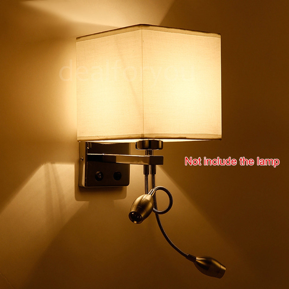Bedside Wall Sconce With Switch : Modern LED Cloth Wall Lamp Wall Sconce Light Hallway Bedroom Bedside Wall Light