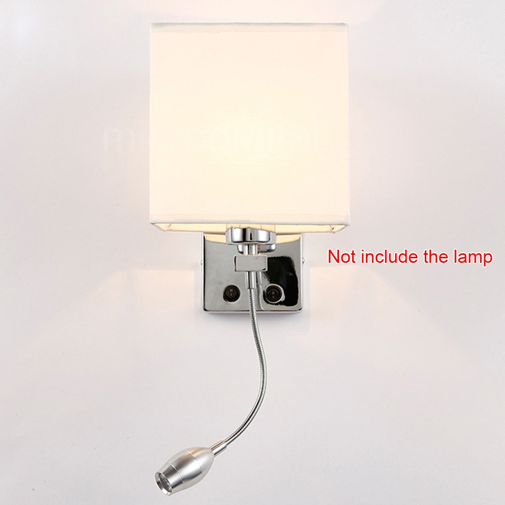 Bedroom Wall Sconces With On Off Switch : Modern LED Cloth Wall Lamp Wall sconce Light Hallway Bedroom Bedside Lighting eBay