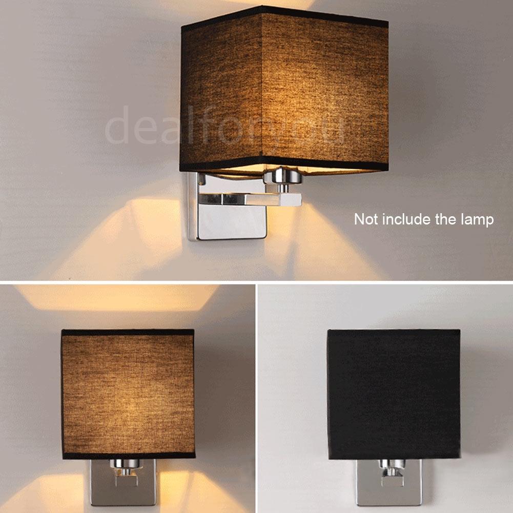 Modern LED Cloth Wall Lamp Sconce Light Hallway Bedroom Hotel Bedside Lighting eBay