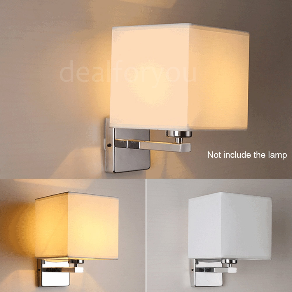 Modern LED Cloth Wall Lamp Sconce Light Hallway Bedroom