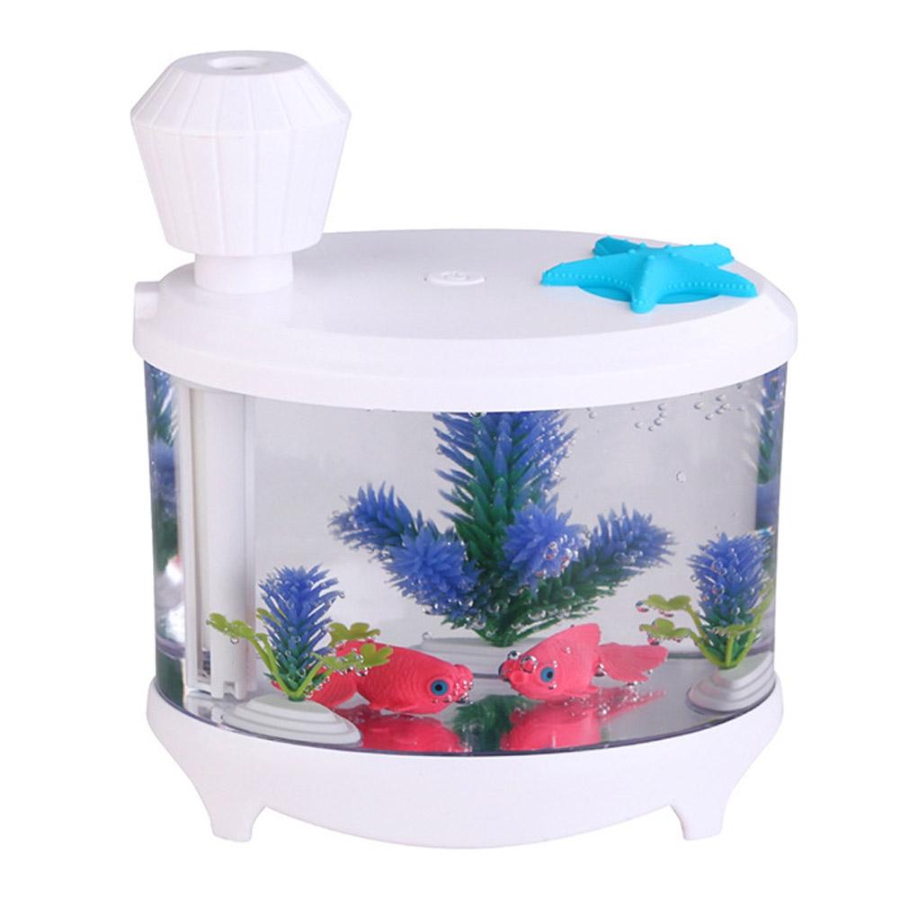 Aquarium fish tank mist maker - Usb Fish Tank Mist Humidifier Ultrasonic Diffuser Night Light Aroma Mist Maker