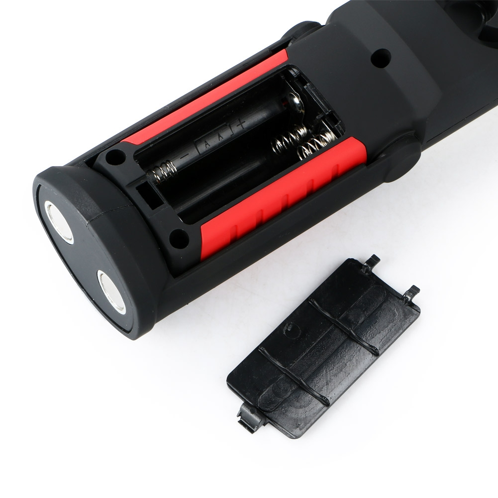 COB LED Magnetic WorkLight Inspection Flashlight Torch