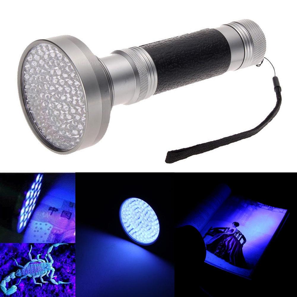 100 led uv blacklight scorpion 395 400nm taschenlampe. Black Bedroom Furniture Sets. Home Design Ideas