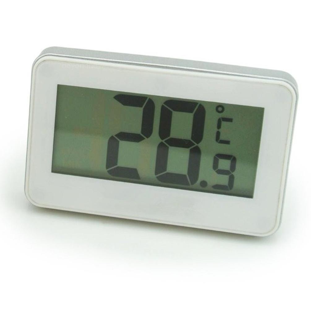 neue wireless digital thermometer w magnet haken f r k hlschrank gefrierschran ebay. Black Bedroom Furniture Sets. Home Design Ideas