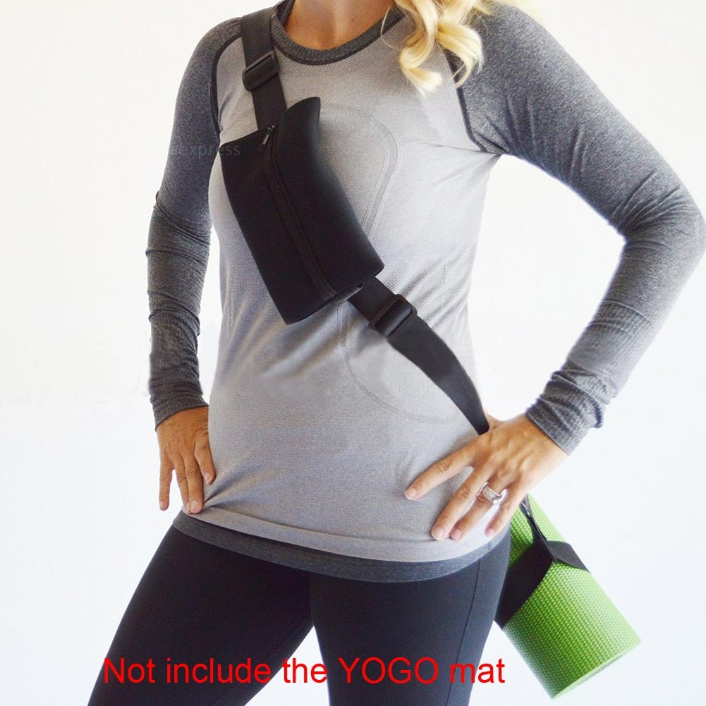 Durable Yoga Pilates Mat Sling Strap Carry Loop Sling