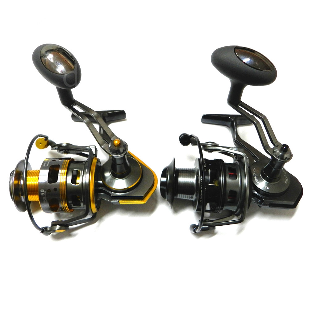 Ace50a full metal lightweight saltwater freshwater for Freshwater fishing reels