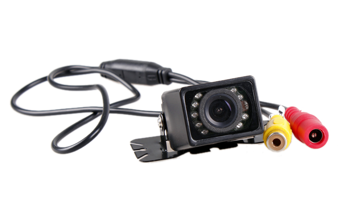 IR Night Vision Car Rear View Camera with LED Light Car Reversing camera 1