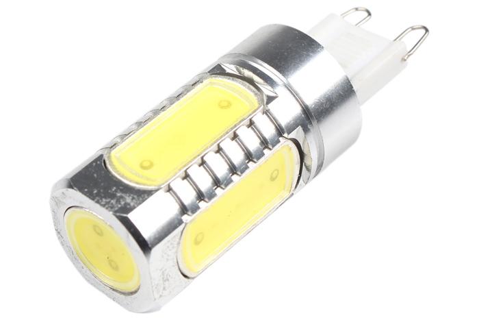 7.5W Super Bright Energy Saving G9 COB LED Car Bulb Light Lamp DC 12V