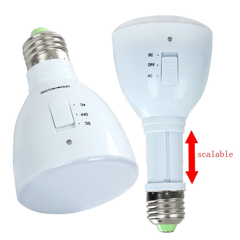 Newly Design Multifunction LED Rechargeable Emergency Bulb Warm White