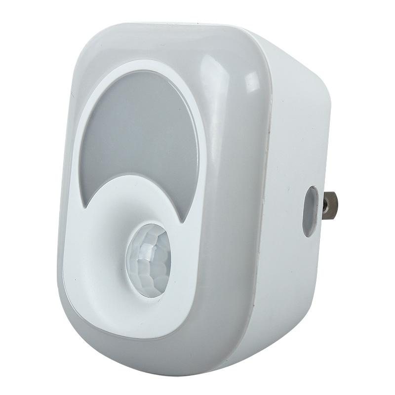 2in1 2W PIR Motion Sensor LampMotion Senor Night Lamp LED Night Light Bulb