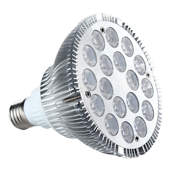36W Ultra Bright E27 PAR38 LED Spot Light AC 85-265V Cool White 120°
