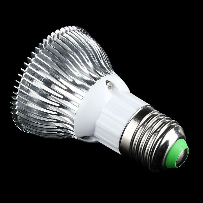 E27 PAR20 9W 3x3W Ultra Bright LED Spot Light AC 85-265V Cool White 60°