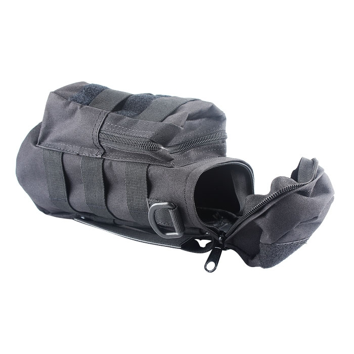 Waterproof Outdoor Round Zipper Water Bottle Bag Tactical Kettle Pouch