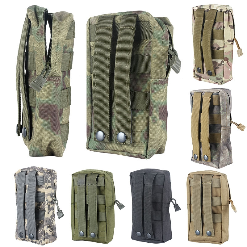 7.8?Portable Waterproof Tactical Accessories Pouch Sundries Waist Bag