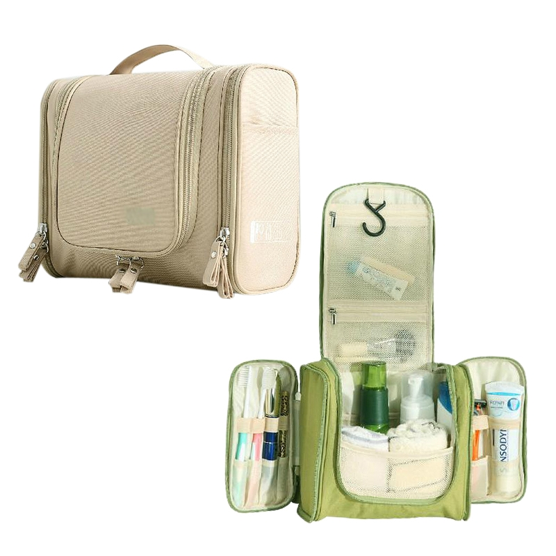 Mens Women?s Portable Multiple Pockets Travel Toiletry Bag Cosmetic Bag