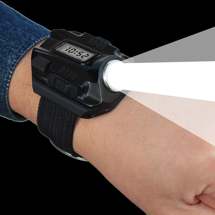 Super Bright Wrist LED Light Rechargeable Waterproof LED ...