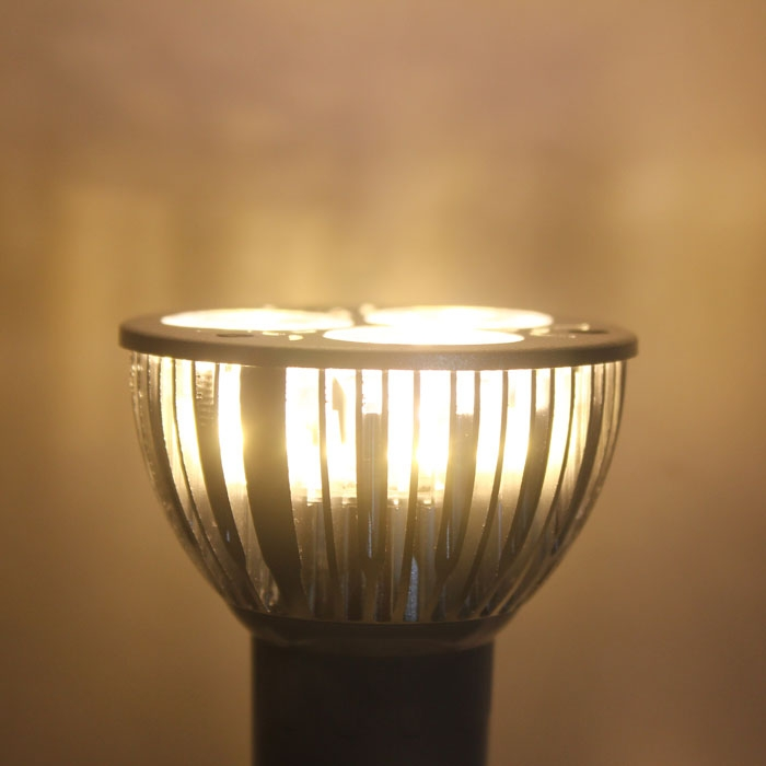 AC110V Dimmable GU10 9W 3X3W LED Lamp Spotlight Warm White