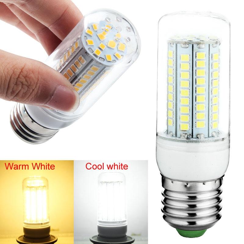 HOT E27 220V 20W 2835 SMD 102 LED Corn Light Bulb Kitchen Lamp Warm White