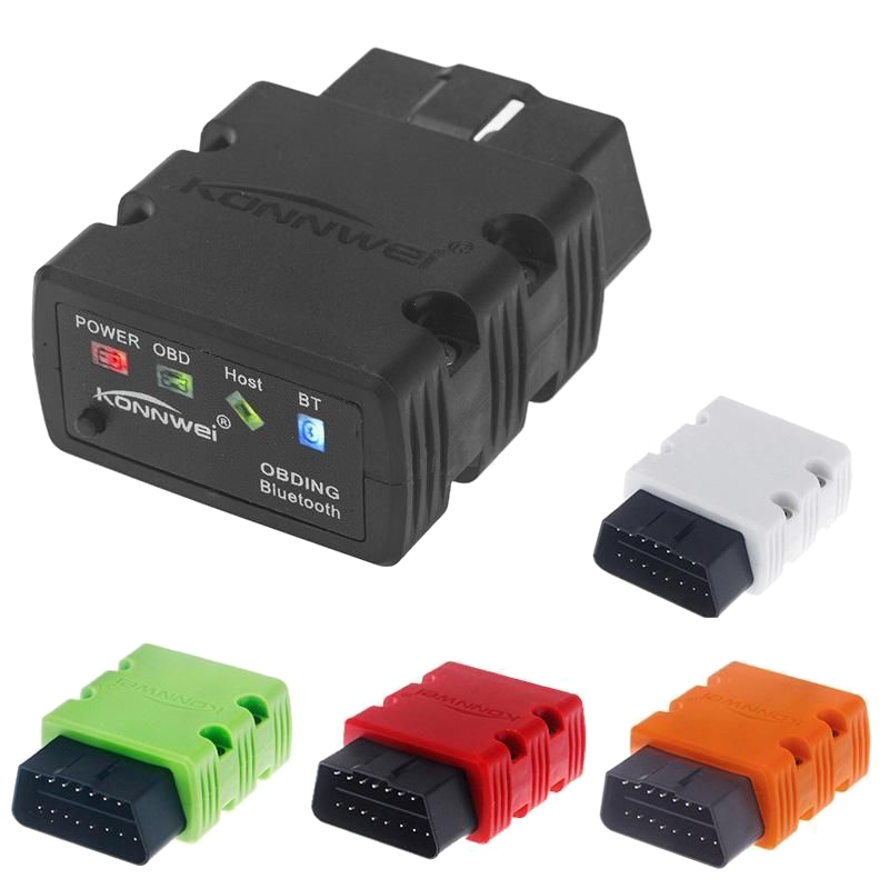 KW902 ELM327 OBD2 Mini Bluetooth Car Auto Scanner Diagnostic Interface Tool