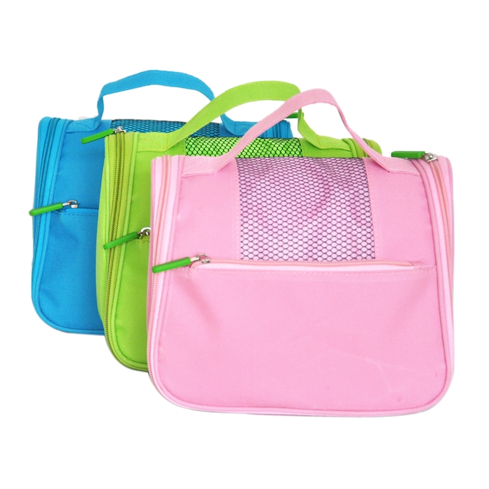 Portable Toiletry Pouch Makeup Cosmetic Storage Zipper Travel Handbag
