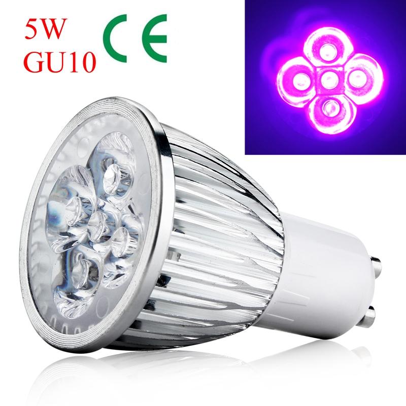 AC85-265V E27 UV LED Lila Scheinwerfer Lampe Glühbirne Licht 3W 5W 7W 9W NEU