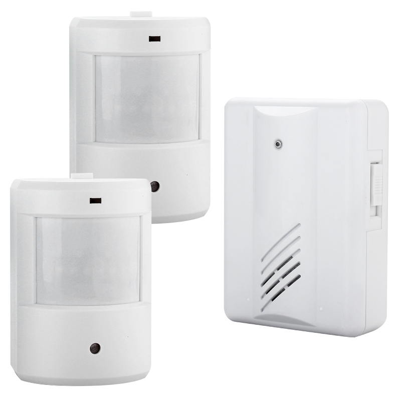 Image Is Loading Driveway Patrol Infrared Wireless Alert System Motion Sensor