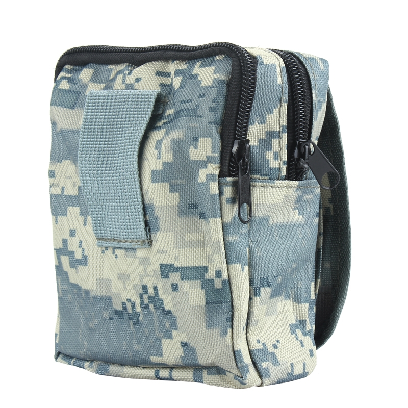 Tactical Operation Equipment Bag Cycling Hiking Camping Travel Zipper Pouch