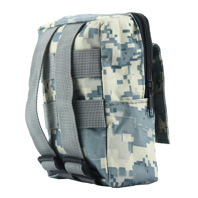 Military WaterproofExplore Waist Pack Army Tactical ZipperUtility Bag Pouch