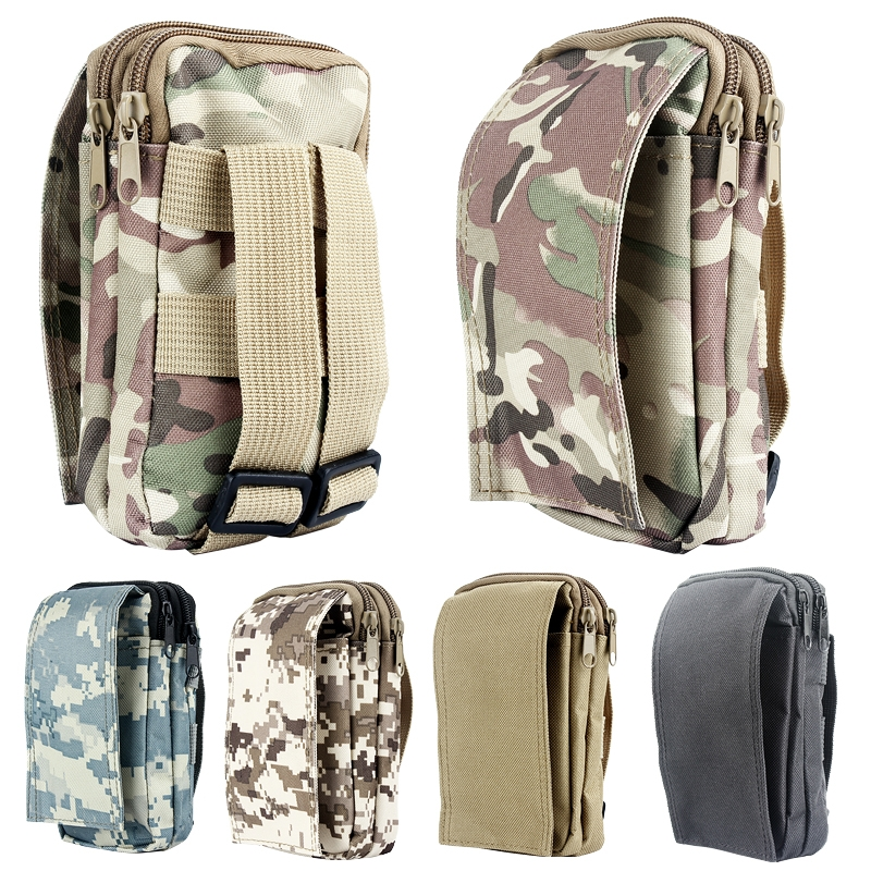 Tactical MilitaryAccessory Sundries Bag Utility Travel Hiking Zipper Pouch