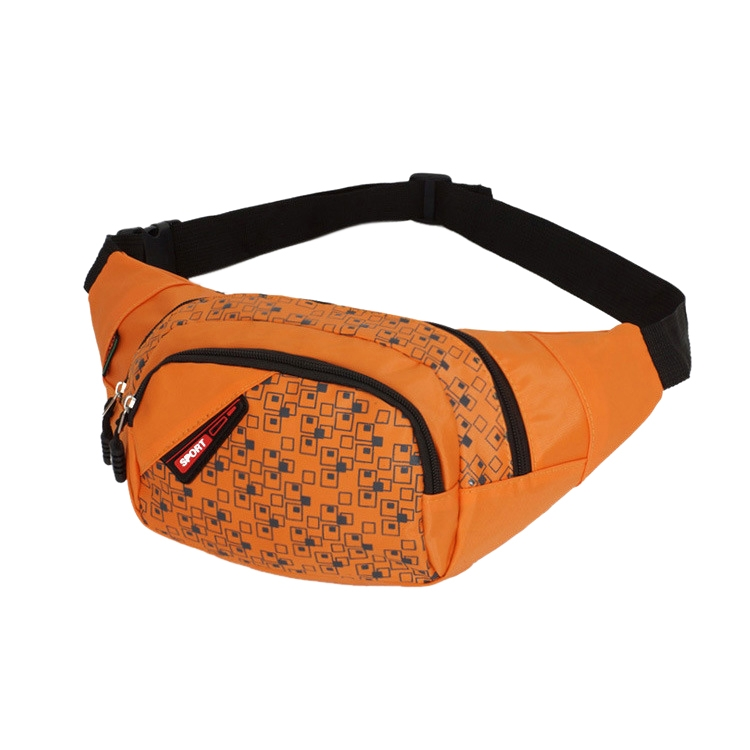 Sports Big Capacity Multi-purpose Dumpling Shaped Waist Bag Chest Pack